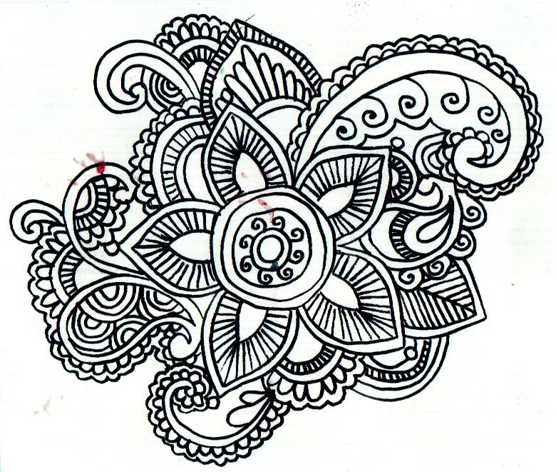 Henna Pattern 2 South Hero Library