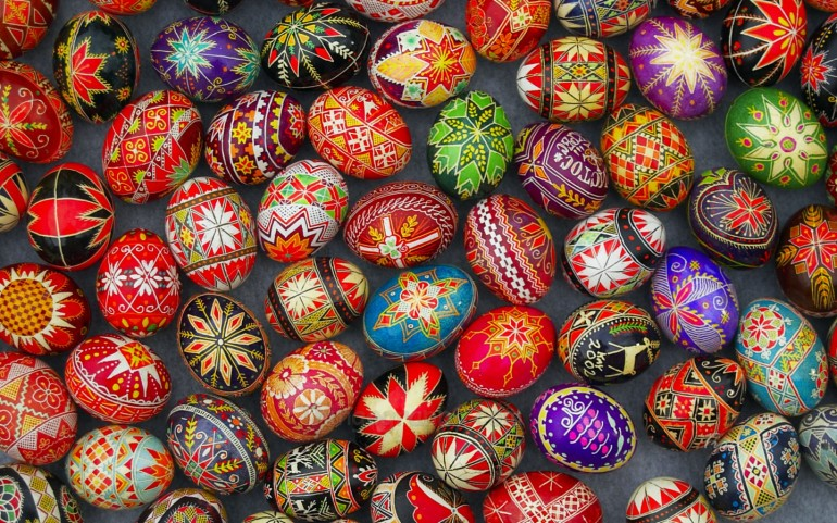 Pysanky Ukrainian Easter Eggs